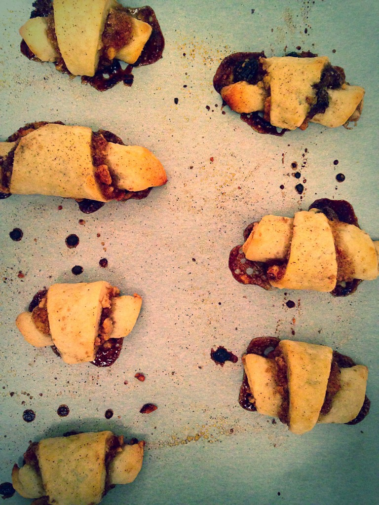 Baked Rugelach