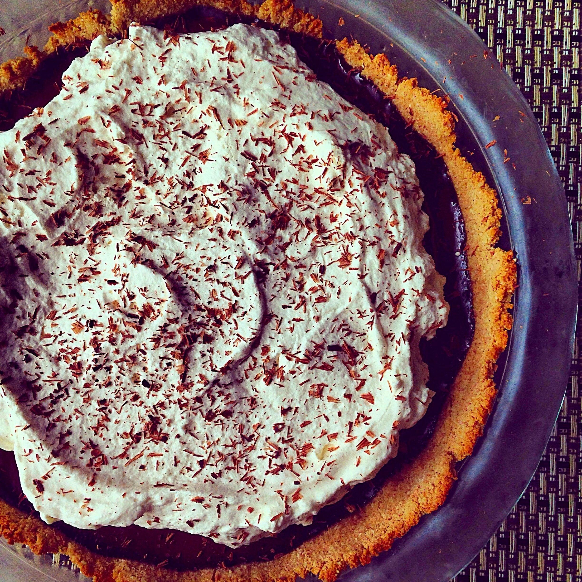 Paleo Chocolate Pudding Pie 1