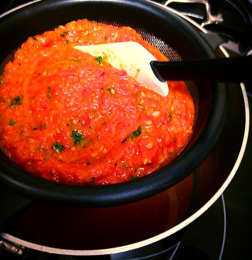 Sieve Tomato Soup