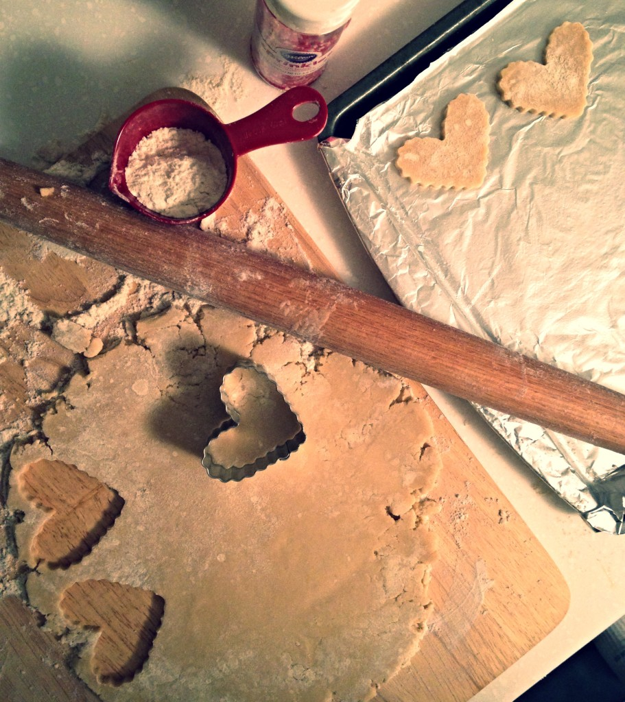 Shortbread Hearts 1