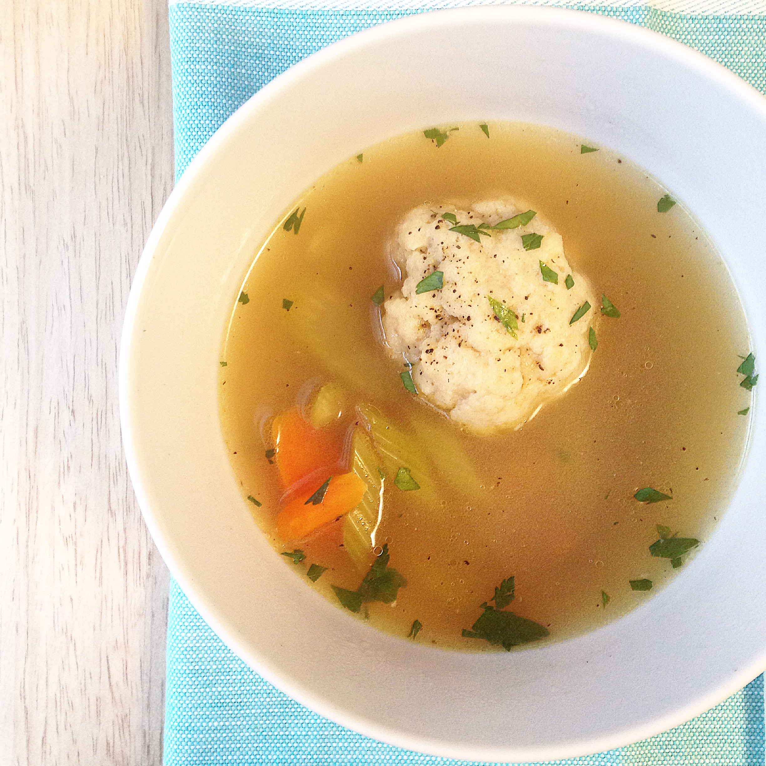 Matzo Ball Soup 4