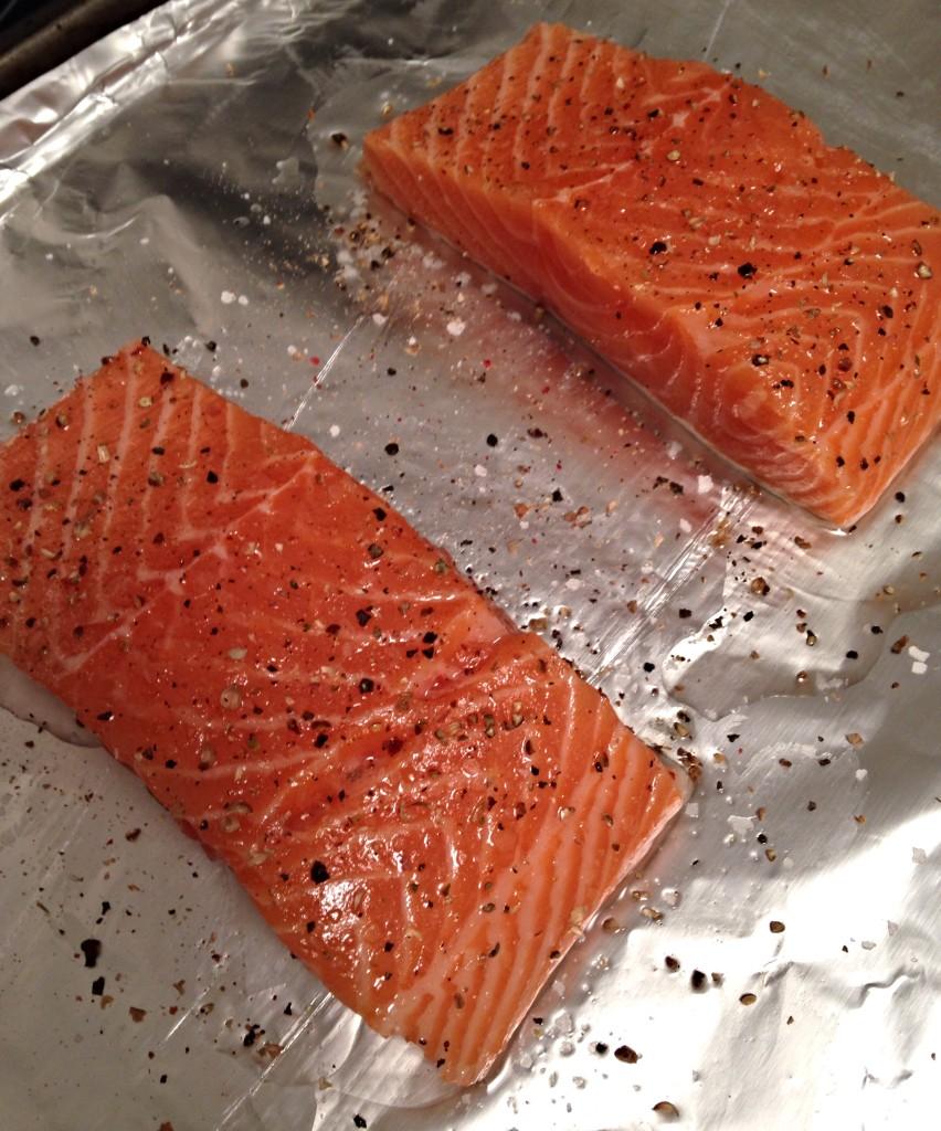 Raw Salmon - Chimi