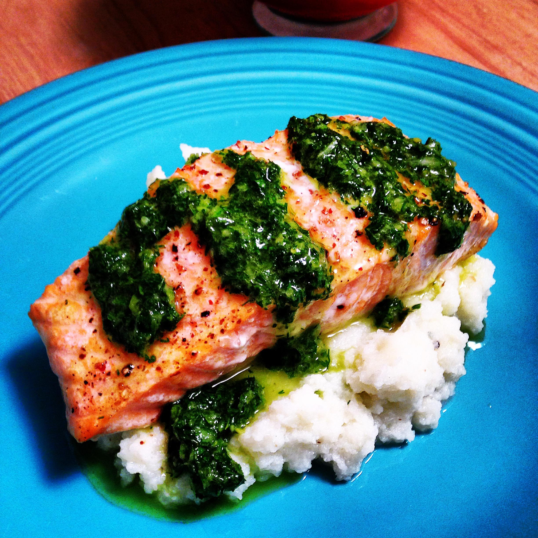 Salmon & Chimi 2