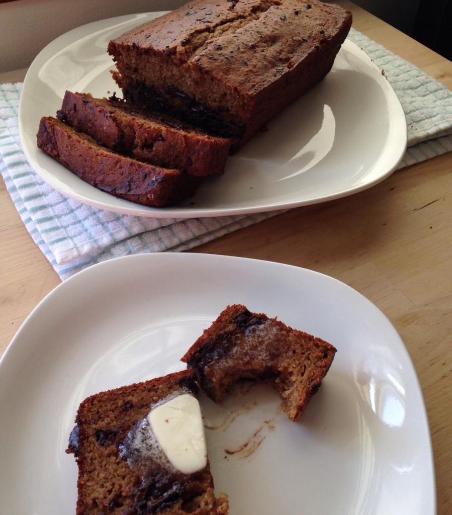 Healthier Banana Bread 3