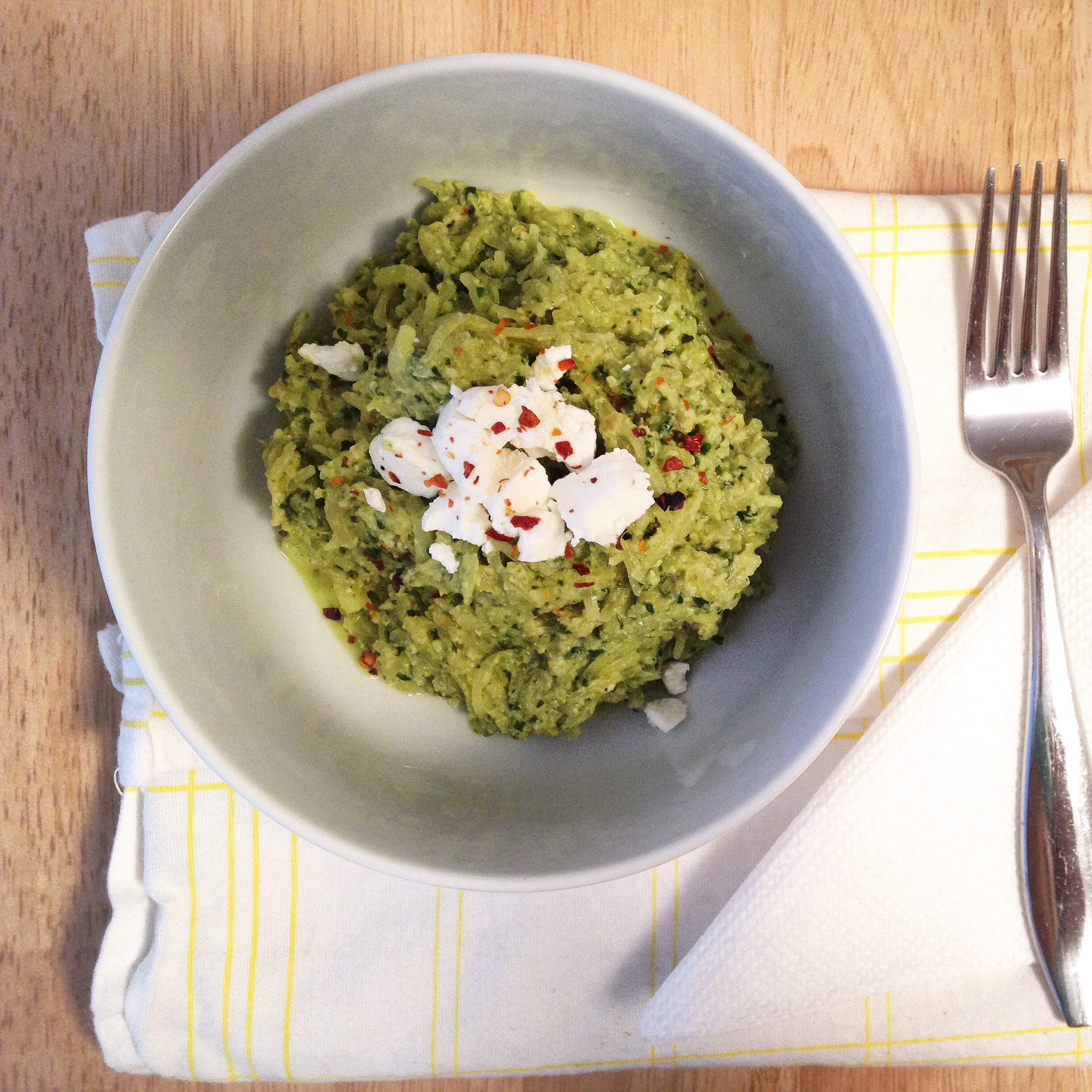 Spinach Pesto 4