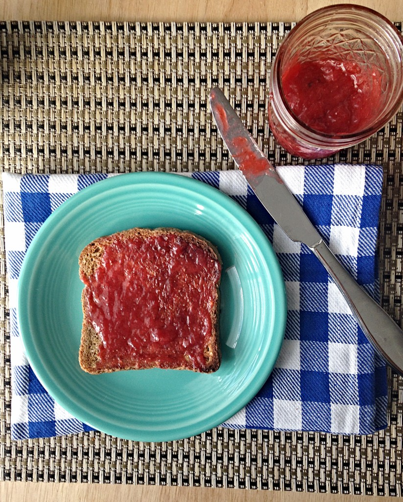 Strawberry Rhubarb Jam 2