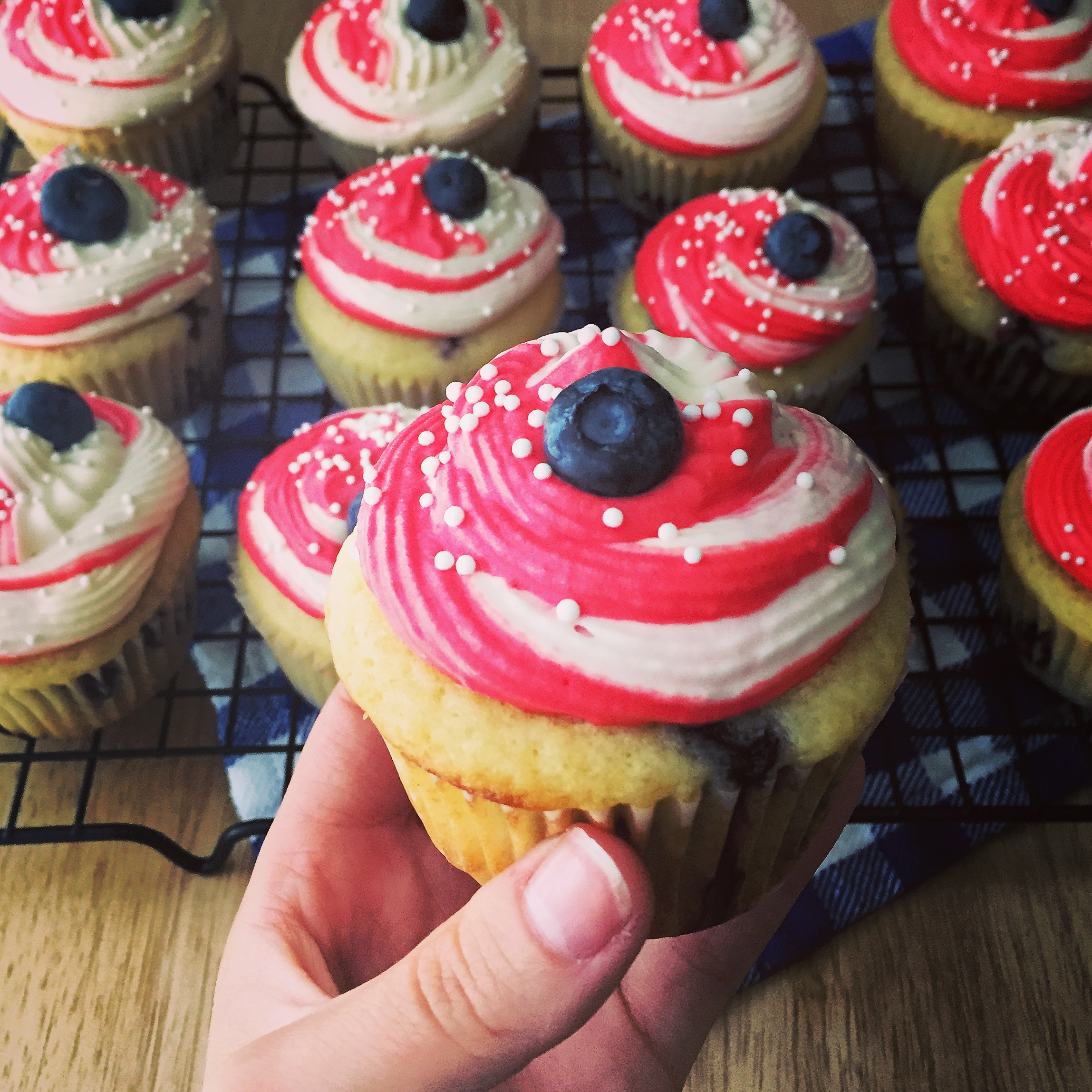 Lemon Blueberry Cupcakes Cover